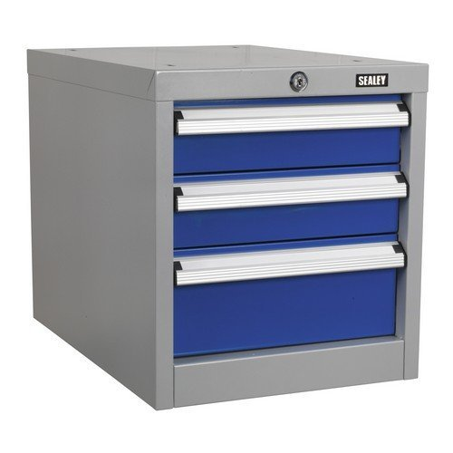 Sealey API16 Industrial Triple Drawer Unit for API Series Workbenches