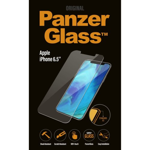 PanzerGlass Apple iPhone XR (Black, Case Friendly)