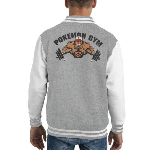 Pokemon Gym Ash Kid's Varsity Jacket