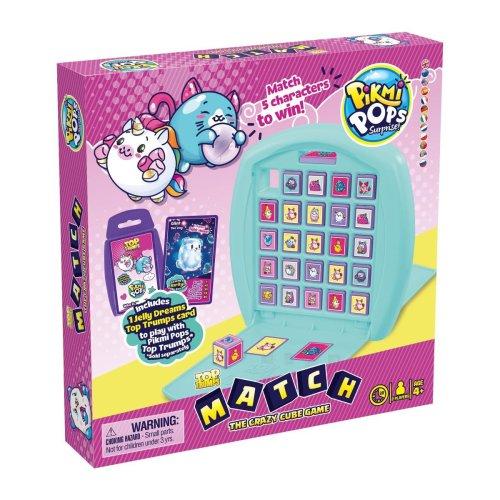 Top Trumps Match - Pikmi Pops Board Game