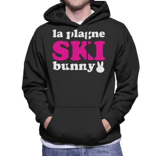 La Plagne Ski Bunny Men's Hooded Sweatshirt
