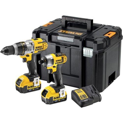 DeWALT DCK290M2T 18V XRP Premium Hammer Drill & Impact Driver Twinpack