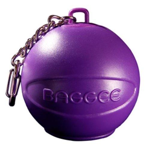 Baggee Plastic Bag Holder Keyring - Purple