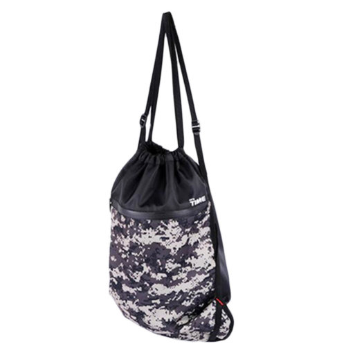 Gray Cool Gym Clothes Bag Exercise Gym Bag Basketball Football Storage