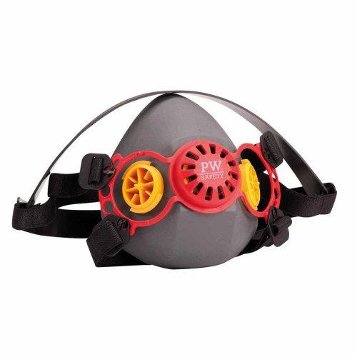 sUw - Geneva Quality Protective Silicone Bayonet Half Respirator Mask