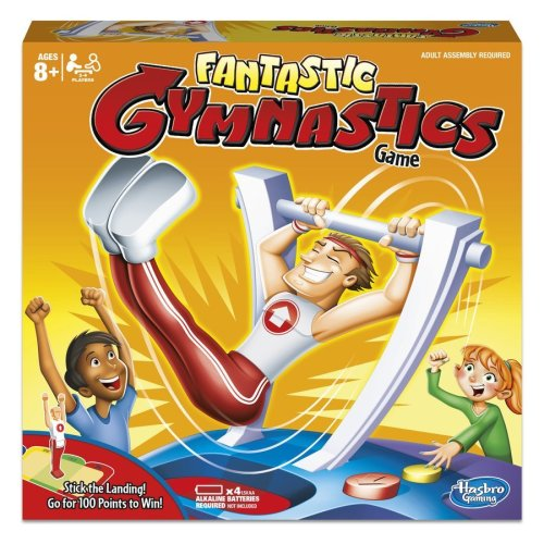 Hasbro Fantastic Gymnastics Game | Gymnastics Board Game