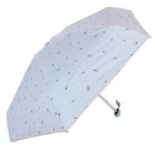 Mini Creative Umbrella Incredible Light Folding Sun Resisting Pale Blue Umbrella