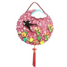 Nursery Décor Products Children DIY Hand Made Wall Decorations, Round