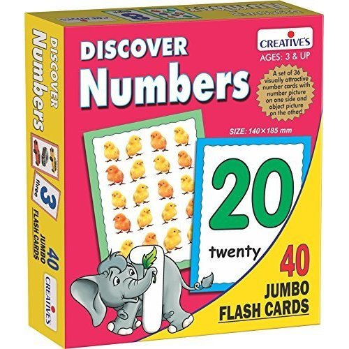 Creative Educational -discover Numbers (flash Cards) - Discover Flash Cre0455 -  creative educational discover numbers flash cre0455 cards game