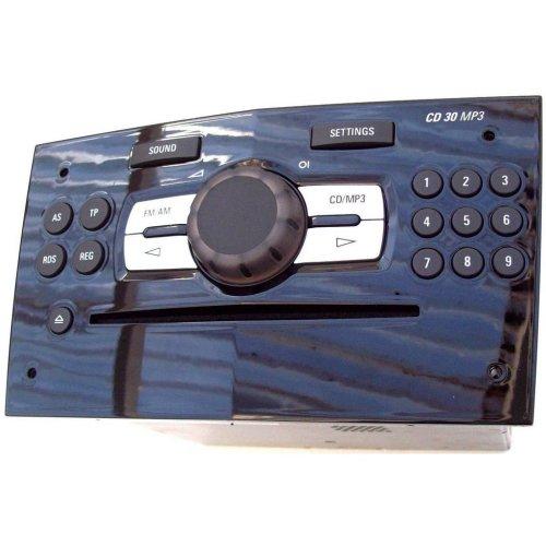 Vauxhall Opel Corsa D Stereo CD 30 MP3 Head Unit & Manual GM 13257029 No Code