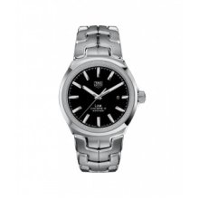 TAG HEUER WATCH LINK CALIBRE 5 STAINLESS STEEL AUTOMATIC WBC2110.BA0603