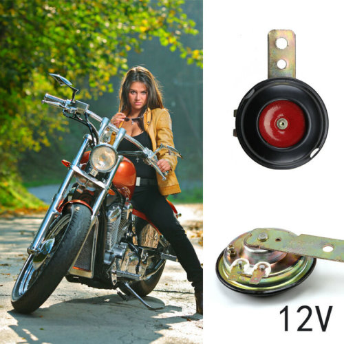 12v Motorcycle Loud Replacement Horn with Bracket 12 Volt Bike 105 db