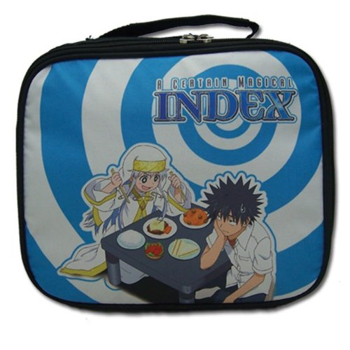 Lunch Bag - Certain Magical Index - Index & Touma New Anime Licensed ge11147