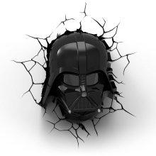 3D Light FX 50026 Star Wars Darth Vader Deco Light Black/Red