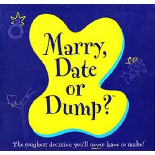 Marry, Date or Dump? Board Game