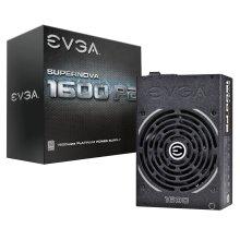 EVGA 220-P2-1600-X2 1600W Black power supply unit