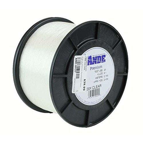 Ande Premium 30lb Test 1/4lb Spool 400yds