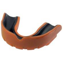 Junior Size Orange Black Safegard Gel Mouthguard -  safegard gel mouthguard