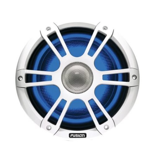 Fusion CL77SPW 7.7'' Marine 2 Way Signature Sports LED Speaker¦4 Ohms¦IP65¦White