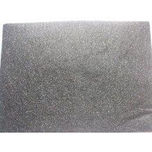 "Kunin Pack of 2 Eco-Felt Glitter Felt Sheets - 9"" x 12"" - Black"