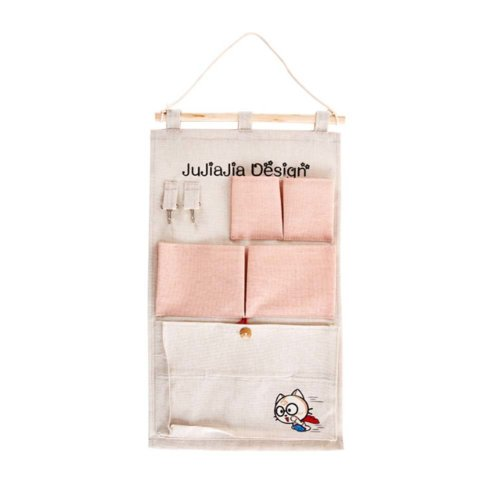 Cute Wall Door Closet Hanging Storage Bag Organizer Wall Bags