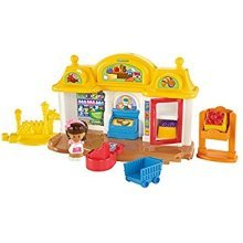 Mattel Fisher Price World Of Little People Corner Market Brand New Sealed
