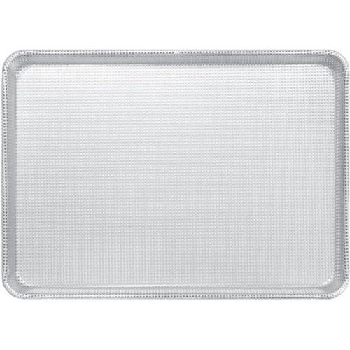 Tarhong ALSP1813PG 18 x 13 in. Half Size Perforated Glazed Aluminum Sheet Pan, 16 Gauge
