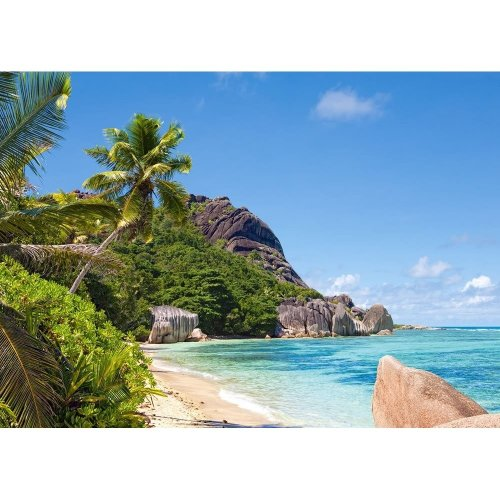 Csc300228 - Castorland Jigsaw 3000 Pc - Tropical Beach, Seychelles