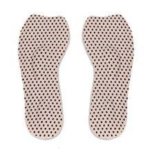 2 Pieces of Sponge High Heels Insoles To Prevent Heel Pain, Pink Dots