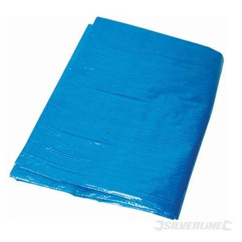 Silverline Tarpaulin 3 x 3.6m - 36m 427565 Waterproof Cover -  tarpaulin silverline x 36m 427565 waterproof cover