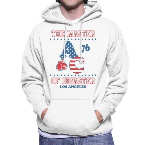 Master Of Disaster Apollo Creed 76 Rocky Men's Hooded Sweatshirt