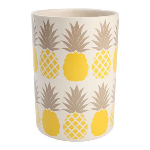 T & G Tutti Frutti Pineapple Utensil Jar