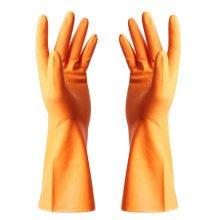 Summer Waterproof Gloves Cleaning Gloves Dish Washing Gloves -Orange
