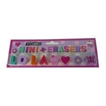 Childrens Mini Erasers - Lola