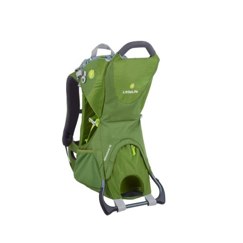 Littlelife Adventurer S2 Child Carrier Green Backpack Travel Lightweight