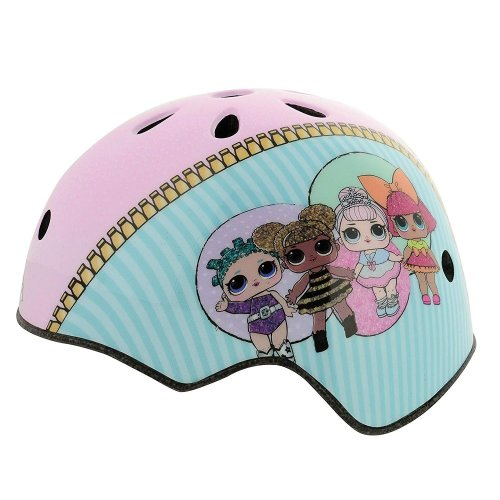 MV Sports LOL Surprise Ramp Safety Helmet With Sticker Sheet Head Size 50-54cm