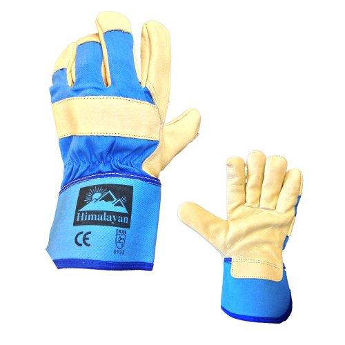 Himalayan H300 High Quality Leather Canadian Rigger Gloves Docker Gloves PPE