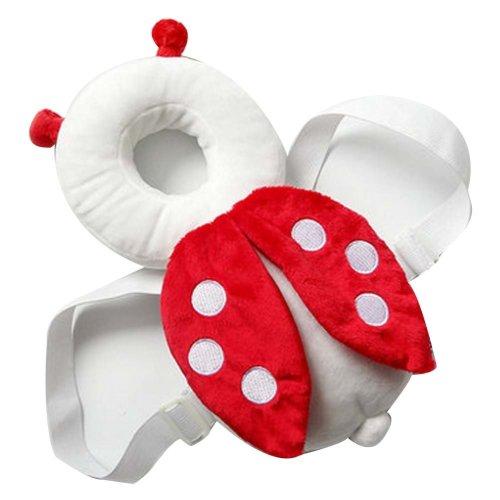 Creative Ladybug Baby's Head Protection Pad Headrest Angel Hat Drop Resistance H