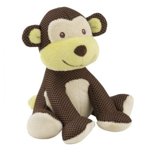 BreathableBaby Soft Mesh Toy (Brown Monkey)