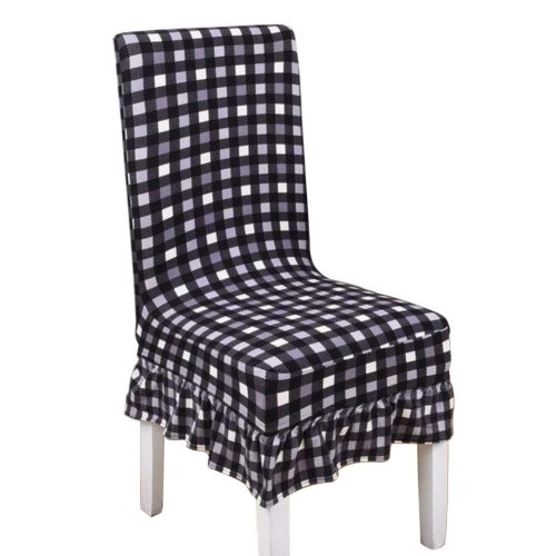 [Lattice-04] Stretch Dining Chair Slipcover Chair Cover Chair Protector