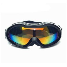 Black Goggles Ski/Skating/Snowboard Goggles for Kids Yellow Lens