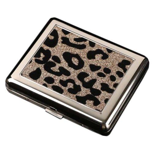 Creative Unique Cigarette Case Cigarette Holder Cigarette Acessories, Leopard Grain