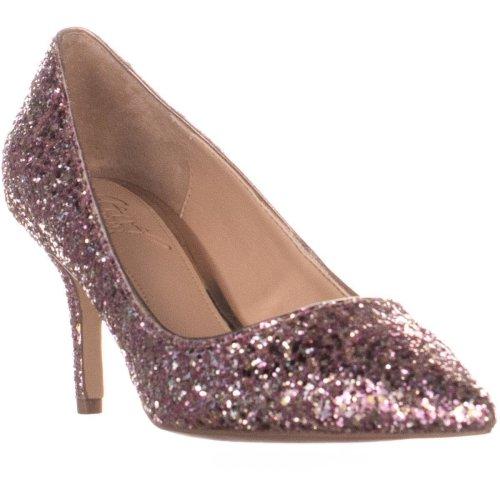 Jewel by Badgley Mischka Lyla Slim Heel Pumps, Rose Gold, 4 UK