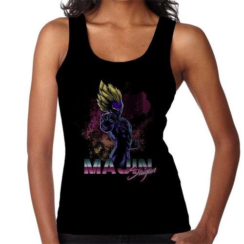 Retro Majin Saiyan Dragon Ball Z Women's Vest