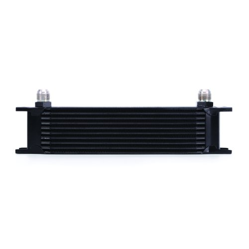 Mishimoto MMOC-10BK Universal 10-Row Oil Cooler, Black