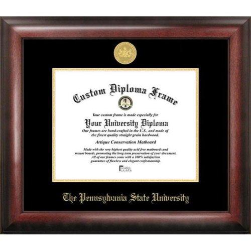 Penn State  University Gold Embossed Diploma Frame