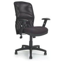 Eliza Tinsley Jupiter - Mesh Back Executive Desk Swivel Armchair with Adjustable Lumbar Support