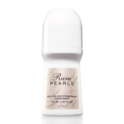 Avon Rare Pearls Bonus Size Roll-On Anti-Perspirant Deodorant (Lot of 2)