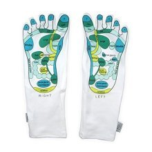 Reflexology Socks - Opal London Therapy Massage Treatment Acupressure Chart -  opal london reflexology socks therapy massage treatment acupressure