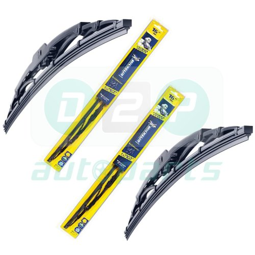 MICHELIN RAINFORCE Traditional Front Wiper Blades Set 450mm/18'' + 660mm/26''